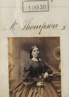 Mrs Thompson, by Camille Silvy - NPG Ax60644