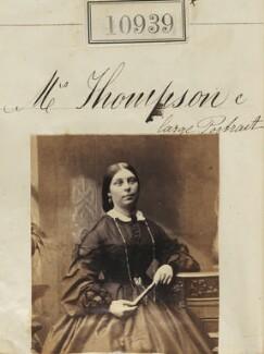 Mrs Thompson, by Camille Silvy - NPG Ax60645