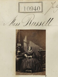 Miss Russell, by Camille Silvy - NPG Ax60646