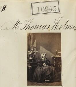 Mrs Thomas Holman, by Camille Silvy - NPG Ax60651