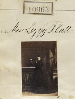 Miss Lizzie Platt, by Camille Silvy - NPG Ax60668