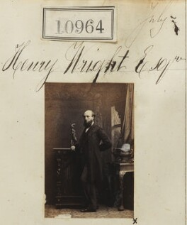 Henry Wright, by Camille Silvy - NPG Ax60670