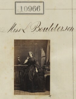 Miss L. Boulderson, by Camille Silvy - NPG Ax60672