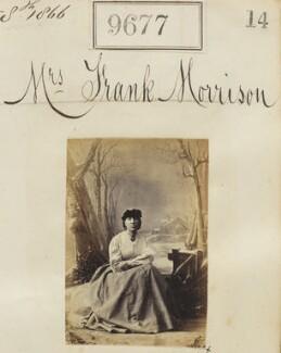 Mrs Frank Morrison, by Camille Silvy - NPG Ax59408
