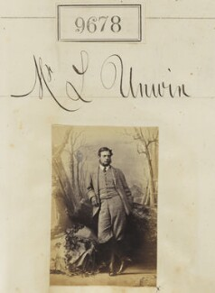 Mr L. Unwin, by Camille Silvy - NPG Ax59409