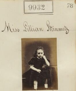 Lillian Mary Thompson (née Steinmetz), by Camille Silvy - NPG Ax59650