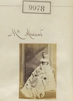 Mrs Alward, by Camille Silvy - NPG Ax59696