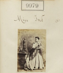 Miss Ind, by Camille Silvy - NPG Ax59697