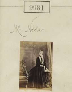 Mrs Noble, by Camille Silvy - NPG Ax59699