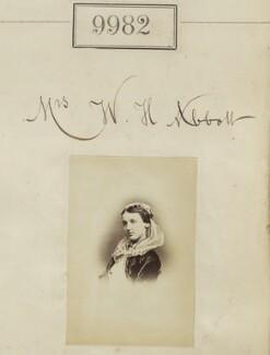 Mrs W.H. Abbott, by Camille Silvy - NPG Ax59700