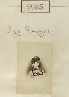 Miss Sangster, by Camille Silvy - NPG Ax59703