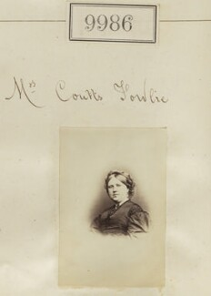Mrs Coutts Fowlie, by Camille Silvy - NPG Ax59704