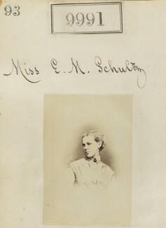 Miss E.M. Schultz, by Camille Silvy - NPG Ax59709