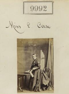Miss E. Case, by Camille Silvy - NPG Ax59710