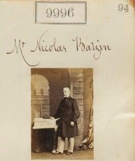 Nicholas Batzin, by Camille Silvy - NPG Ax59713