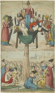 'The Stool of Repentance; the Scorn of the World!!', published by William Benbow - NPG D48677