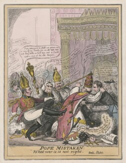 Pope Mistaken, by (Isaac) Robert Cruikshank, published by  George Humphrey - NPG D48680