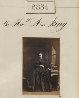 Hon Miss King, by Camille Silvy - NPG Ax56804