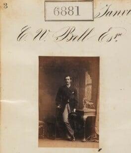 Mr C.W. Bell, by Camille Silvy - NPG Ax56801