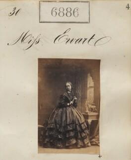 Miss Ewart, by Camille Silvy - NPG Ax56805