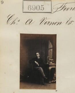 Charles A. Vernon, by Camille Silvy - NPG Ax56824