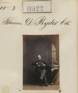Thomas D. Ryder, by Camille Silvy - NPG Ax56841