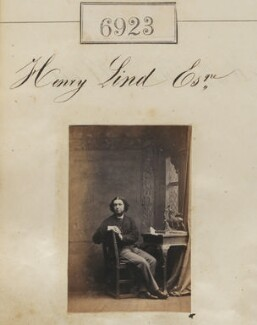 Henry Lind, by Camille Silvy - NPG Ax56842