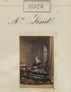 Mrs Lind, by Camille Silvy - NPG Ax56843