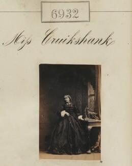 Miss Cruikshank, by Camille Silvy - NPG Ax56851