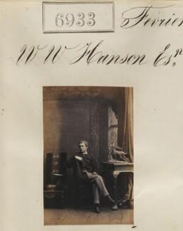 Mr W.W. Hanson, by Camille Silvy - NPG Ax56852