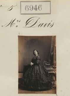 Mrs Davis, by Camille Silvy - NPG Ax56865