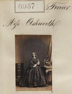 Miss Ashworth, by Camille Silvy - NPG Ax56876