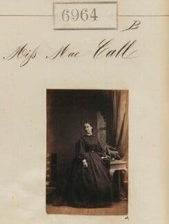 Miss Mac Call, by Camille Silvy - NPG Ax56883