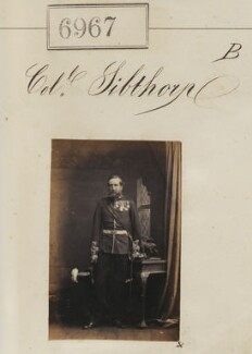 Colonel Sibthorp, by Camille Silvy - NPG Ax56886
