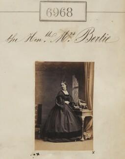 Hon. Mrs Bertie, by Camille Silvy - NPG Ax56887