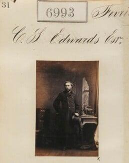 Mr C.S. Edwards, by Camille Silvy - NPG Ax56911