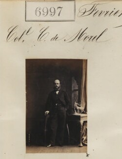 Colonel Charles Carew de Morel, by Camille Silvy - NPG Ax56915