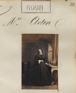 Mrs Acton, by Camille Silvy - NPG Ax56916