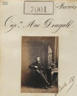 Captain Mac Dougall, by Camille Silvy - NPG Ax56919