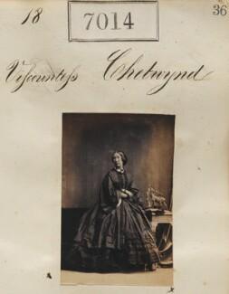 Viscountess Chetwynd, by Camille Silvy - NPG Ax56930