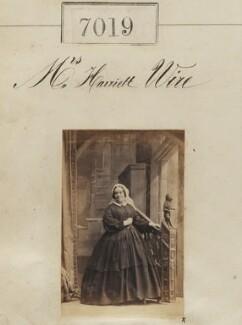 Mrs Harriett Wire, by Camille Silvy - NPG Ax56935