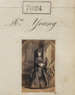 Mrs Young, by Camille Silvy - NPG Ax56940