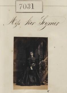 Miss Ker Seymer, by Camille Silvy - NPG Ax56947