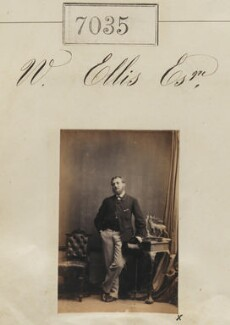 Mr W. Ellis, by Camille Silvy - NPG Ax56951