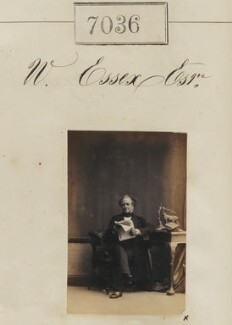 Mr W. Essex, by Camille Silvy - NPG Ax56952