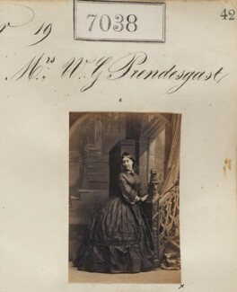 Mrs W.G. Prendesgast, by Camille Silvy - NPG Ax56954