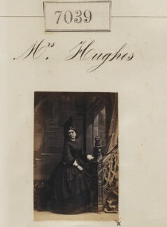 Mrs Hughes, by Camille Silvy - NPG Ax56955