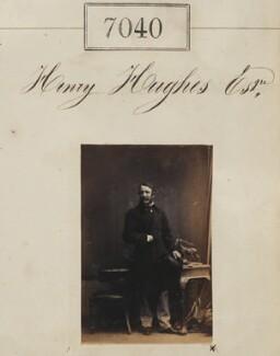 Henry Hughes, by Camille Silvy - NPG Ax56956