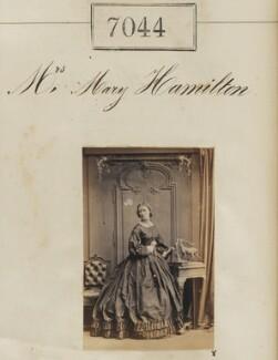 Mrs Mary Hamilton, by Camille Silvy - NPG Ax56960