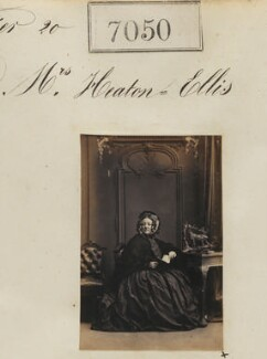 Mrs Heaton Ellis, by Camille Silvy - NPG Ax56966
